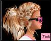 tinks blonde braided pon