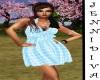 Pretty Blue Summer Dress