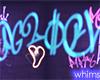 Glow Vibes Neon Graffiti
