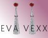 $Victa D.Ruby Earrings