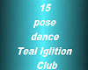 Teal Ignition 15 Dance/P