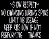 Spin Respect {RH}