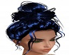 Metallic Blue Hairstyle