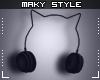 Ms~Cat headphones