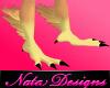 M anyskin bird feet