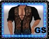 """GS"" MUSCLE SHIRT BLACK"