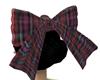 Red Plaid Wonder Bow