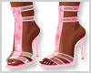 Pink Butterfly Heels