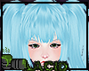 Blue Big Pigtails