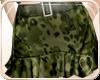 !NC Camo Rufle Skirt