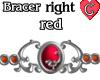 Bracer1 Red RIGHT