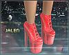 ز   Glitter Platforms.