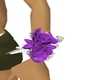 Purple Rose Coursage