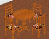 ~L~ Table & Chairs