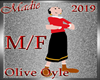 !a Avatar Olive Oyle M/F