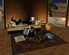 Arabian sofa poses