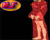 Red Translucent Robe