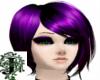 Short Dark Purple Hair