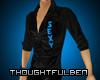 .TB. Teal Sexy Shirt