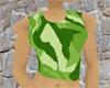 Camo Wife Beater Green