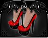 [DM] PVC Shiny Heels Red