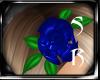 PVC BLUE ROSE