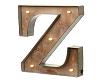 (AF) Sign Letter Z