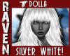 DOLLA SILVER WHITE!