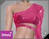 ~AK~ PVC Top: Pink