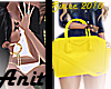 ♀ Yellow purse