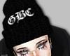 GBC beanie w hair