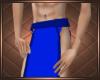 Blue Loincloth Short