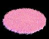 Pink Poseless Fur Rug