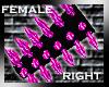 [GEL] Pink Spikes (R)