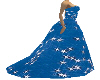 Blue Star Gown
