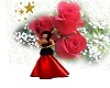 RED  ROSES  BACK DROP