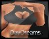 Black Heart Top