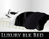 Luxurious Black Bed w/ps