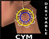 Cym Retro Earrings Derv3