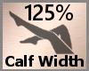Calf Scale Thick 125% FA