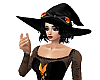 Orange Witches Hat