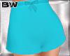 Turquoise Bow Short