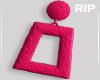 R. PINK Earrings