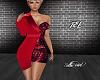 Red Ritz Dress -RL
