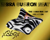 [B69]Zebra Cushion 3ppl