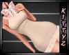 ! Fancy City Dress Beige