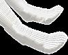 B! White Socks NEW M