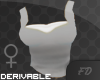 Derivable Female Top