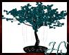 Teal Glitter Tree