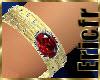 Bracelet Ruby on Gold